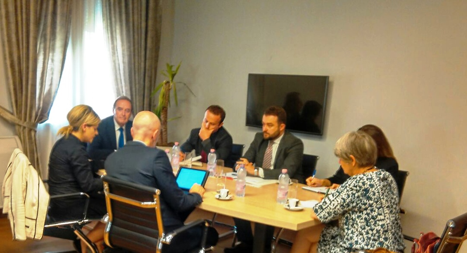 Meeting with representatives from GDPML and delegation from the Netherlands